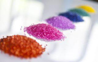 Granuli materiale plastico