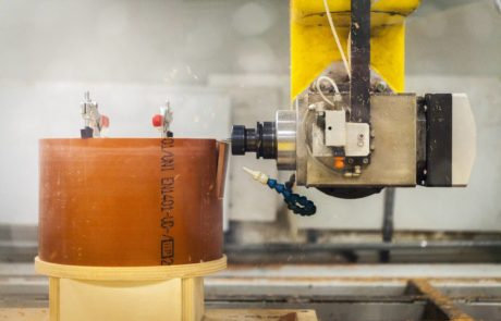 Fresatura lastre in polietilene, PVC, plexiglas, metacrilato, polistirolo, ABS, policasrbonato