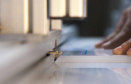 Lavorazione lastre in metacrilato o plexiglass
